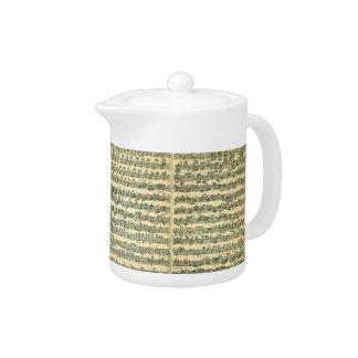 Teapot Bach Chaconne