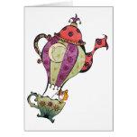 Teapot Balloon Card