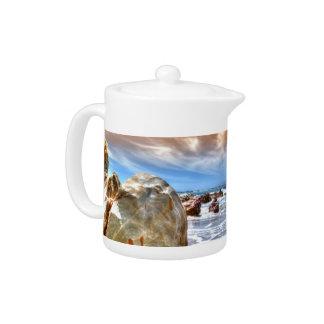 Teapot Beach Scene