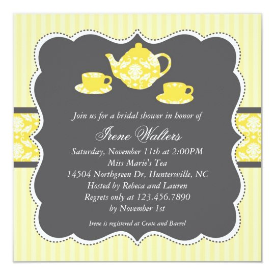 Teapot bridal shower invitation zazzle teapot bridal shower invitation filmwisefo Gallery