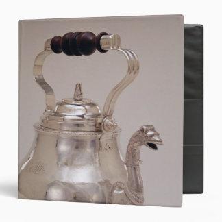 Teapot, c.1765 3 ring binders