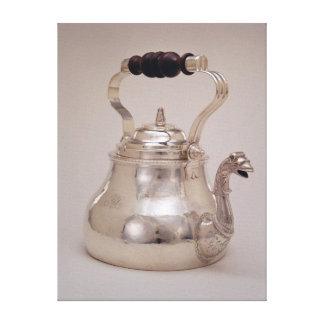 Teapot, c.1765 canvas print