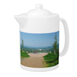 Teapot central mountain landscape, winner country