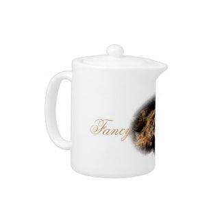 Teapot. Fancy Cat. Teapot