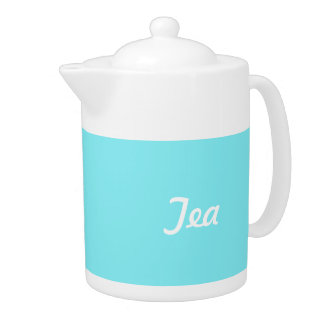 Teapot in Turquoise