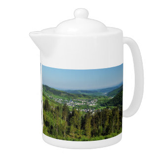 Teapot landscape in the winner country, Hainchener