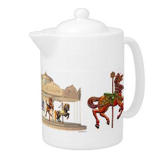 Teapot LG - Merry Go