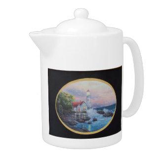 Teapot LIGHTHOUSE COTTAGE Medium Size