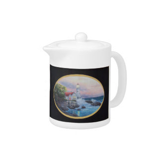 Teapot LIGHTHOUSE COTTAGE Small Size