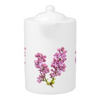 Teapot - Lilac blossoms