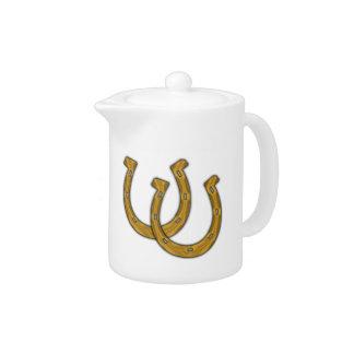 Teapot - Lucky Horse Shoes