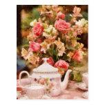 Teapot - More tea Milady Post Card