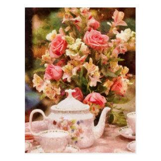Teapot - More tea Milady Postcard