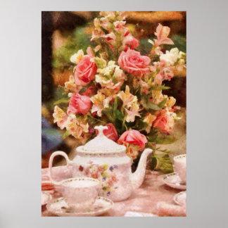 Teapot - More tea Milady Poster