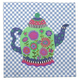 Teapot Printed Napkins
