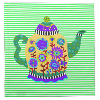 Teapot Napkins