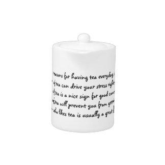 Teapot of Reasons