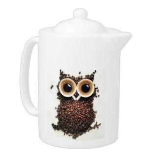 teapot owl beans