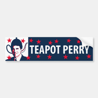 Teapot Perry Bumper Stickers
