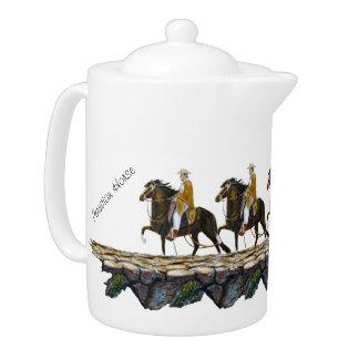 Teapot, Peruvian Mountain Trail Teapot