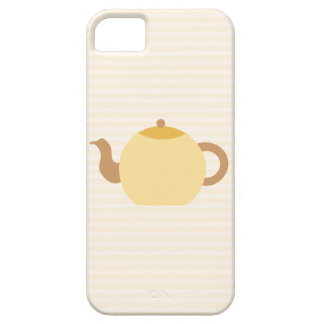 Teapot Picture in Neutral Colors. iPhone SE/5/5s Case