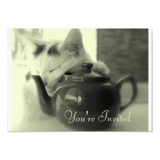 Teapot Pillow Card