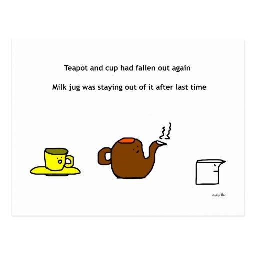 Teapot Postcard