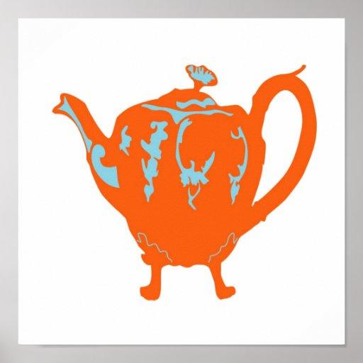 Teapot Poster