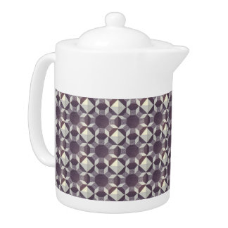 Teapot - Purple Quilt Pattern