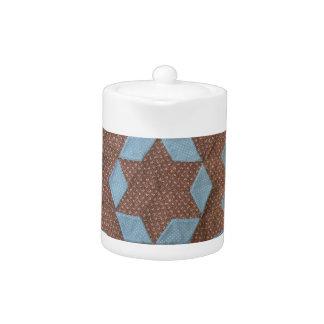 Teapot - Quilt Pattern - Castle