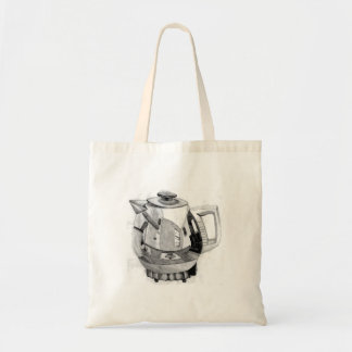 Teapot Reflections Shopping Bag Tote