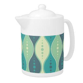 Teapot Seamless retrò pattern