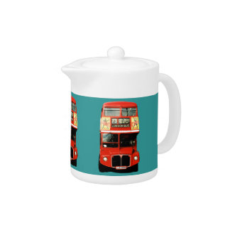 Teapot with London Bus