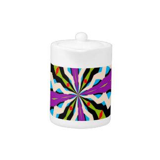 Teapot with New Kaleidoscope Design!