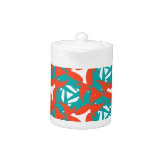 Teapot with Tropical Surprise Design