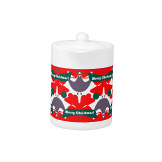 Teapot with Wrapping Paper Design!