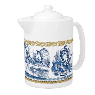 Teapot - Wonderland at Zazzle