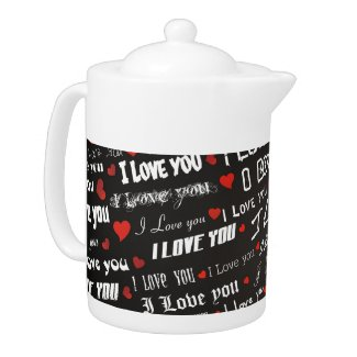 Teapots of Love