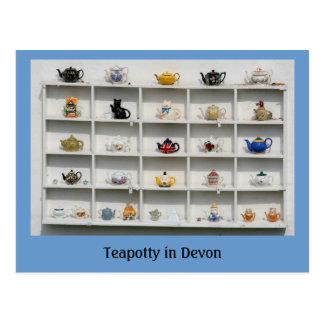 Teapotty in Devon Postcard