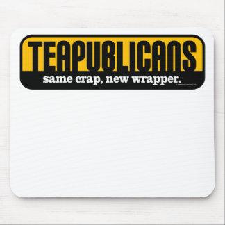 Teapublicans - same crap, new wrapper mouse pad