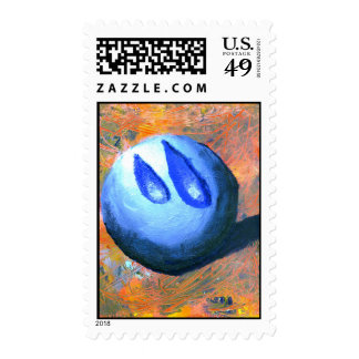 Tear Drop by MANUEL Acrylic on Canvas Postage