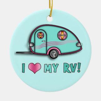 Tear Drop RV Trailer Ornaments