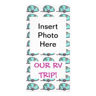 Tear Drop RV Trailer PHOTO CARD