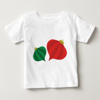 Tear Drop Striped Ornament Baby T-Shirt