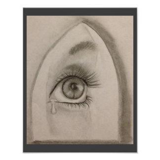 Tear In The Eye Photo