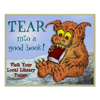 TEAR into a good book! Poster