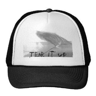 Tear it up trucker hat