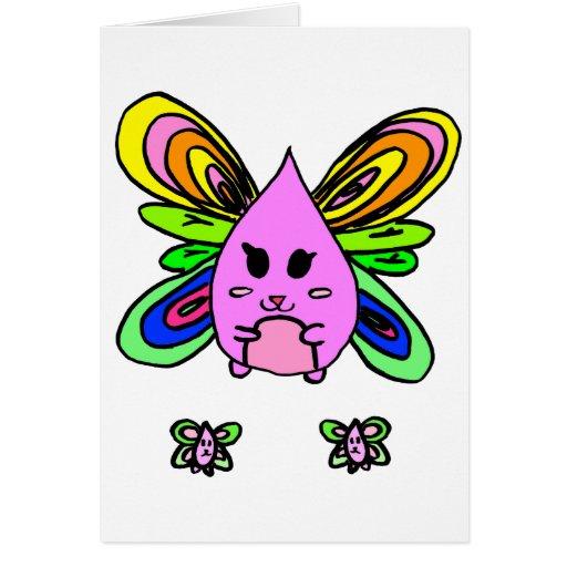 Teardrop Dragonfly Cards