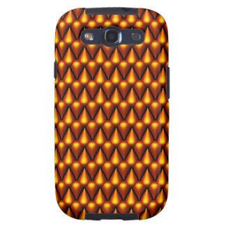 Teardrop Pattern in Gold Samsung Galaxy S3 Case