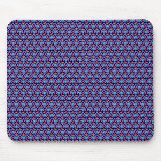 teardrop pattern mousepad